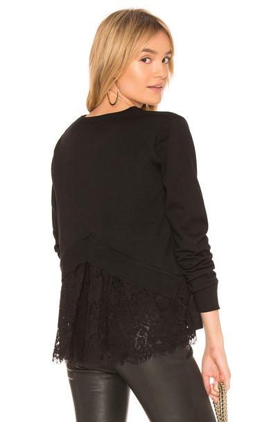 Heartloom sweater lace black