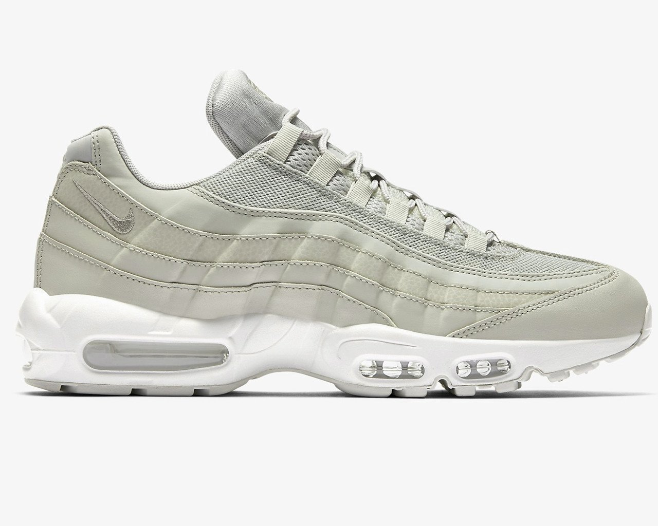 Nike AIR MAX 95 ESSENTIAL 749766 020 Pale Grey Trainers