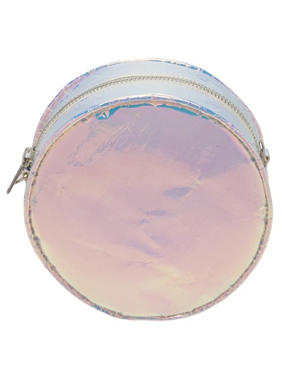 Zilla Iridescent Laminated Round Bag - Patron Of The New - Farfetch.com