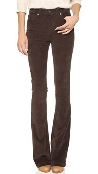 Paige jeans high chocolate brown