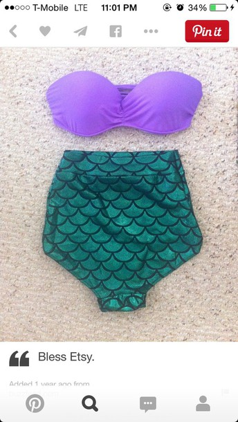 swimwear the little mermaid swimwear bikini