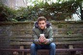 tom daley,coat,khaki,army green jacket,menswear,down jacket,mens coat,mens parka