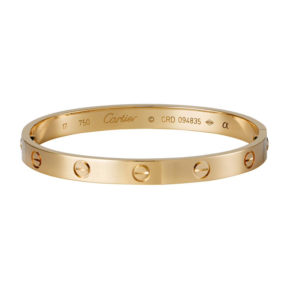 LOVE bracelet - Pink gold - Fine Bracelets for women -  Cartier