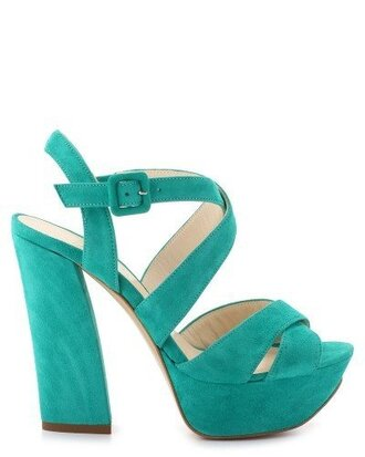 shoes minelli turquoise blue summer straps strappy heels heels gorgeous sandals sandal heels