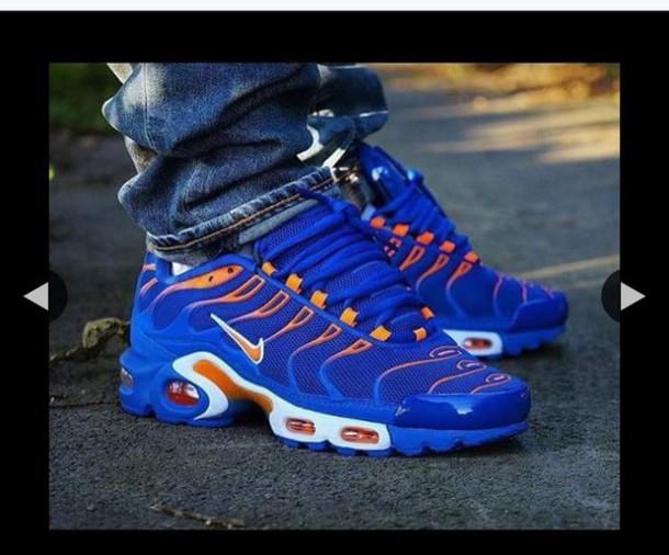 air max blue and orange