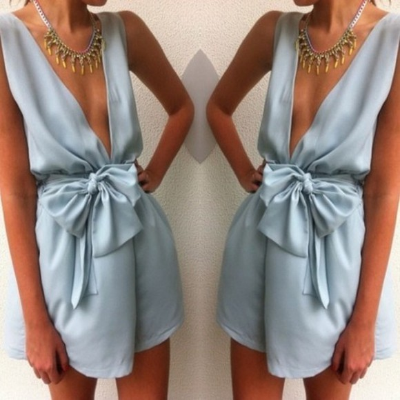 dress blue silk tumblr tumblr girl tumblr clothes romper
