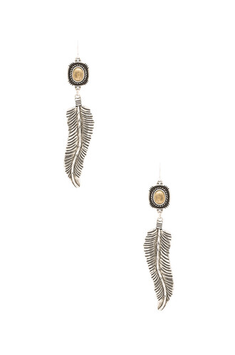 earrings metallic silver
