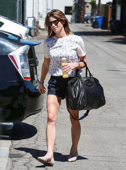 shorts top ashley greene