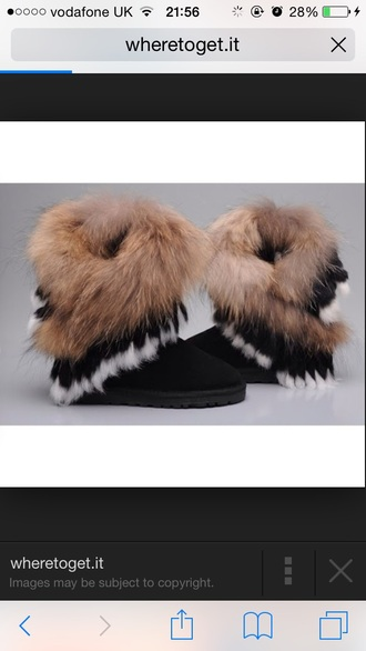 ugg boots feathers