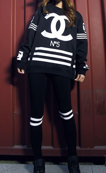 Homme Logo Zipper Sweatshirt Hockey Jersey from Tumblr Fashion on Storenvy