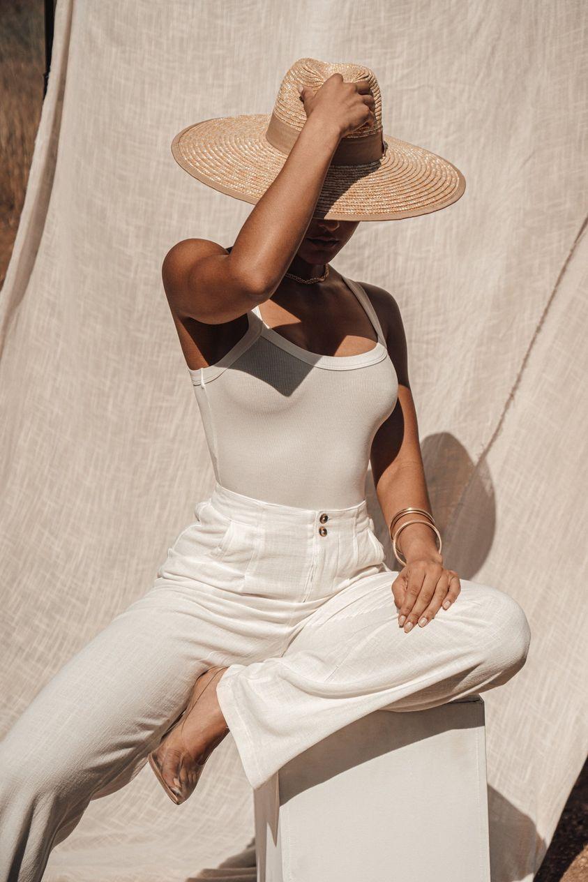 OASIS BRIMMED SUN HAT