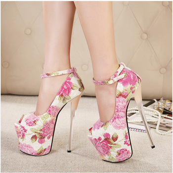 Aliexpress.com : Buy Ladies Fashion High Wedge Heel Sandals Women Platform Summer Shoes Pumps With Back Zip Wholesale BC999 2NF from Reliable shoe keeper suppliers on Fashion Show