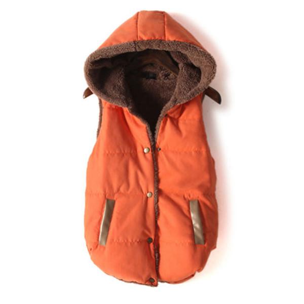 coat vest roman hood