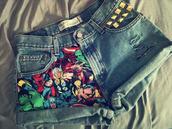 shorts,marvel