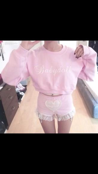 pullover babydoll