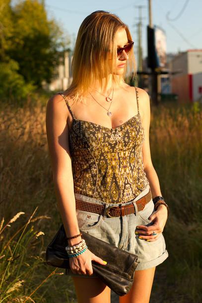 styling my life shorts t-shirt shirt shoes sunglasses bag jewels