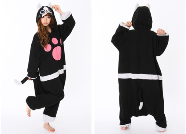 dress kigurumi hunter merarou monster animal onesies
