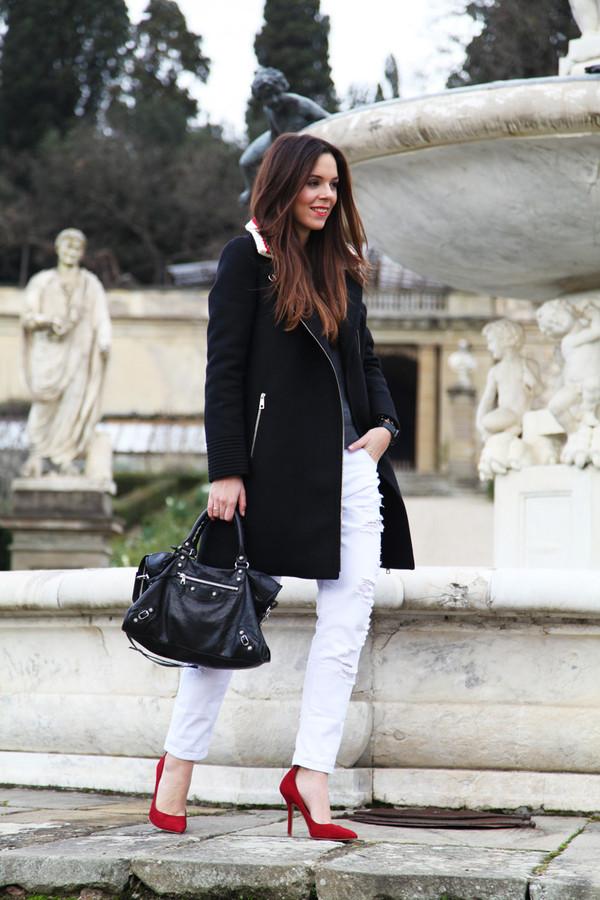 irene's closet jewels coat shoes jeans bag