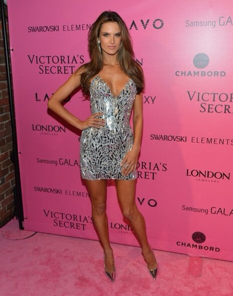 dress victoria's secret alessandra ambrosio