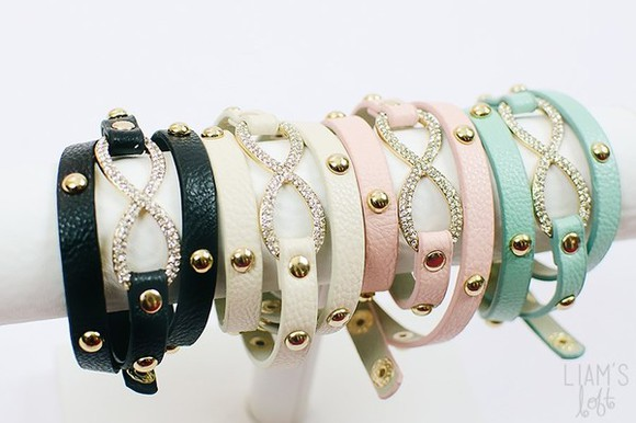 bracelets wrap bracelet jewels infinity accessories