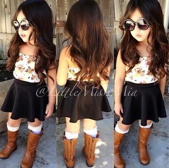 sunglasses girls toddler kids kids clothes fashion kids boots kids boots skater skirt kids fashion floral shirt floral blouse shoes