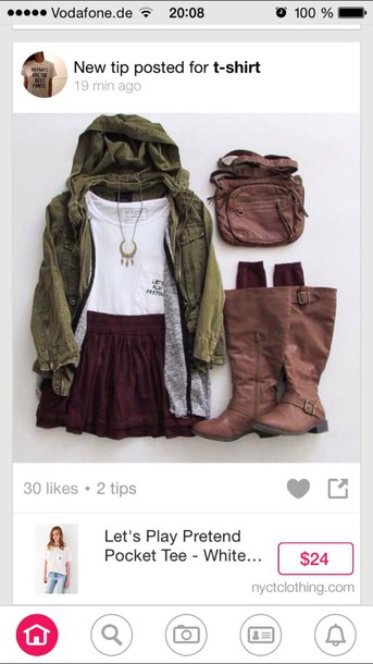 jacket green jacked khaki style rain hipster shoes sunglasses top love socks skirt jewels belt bag