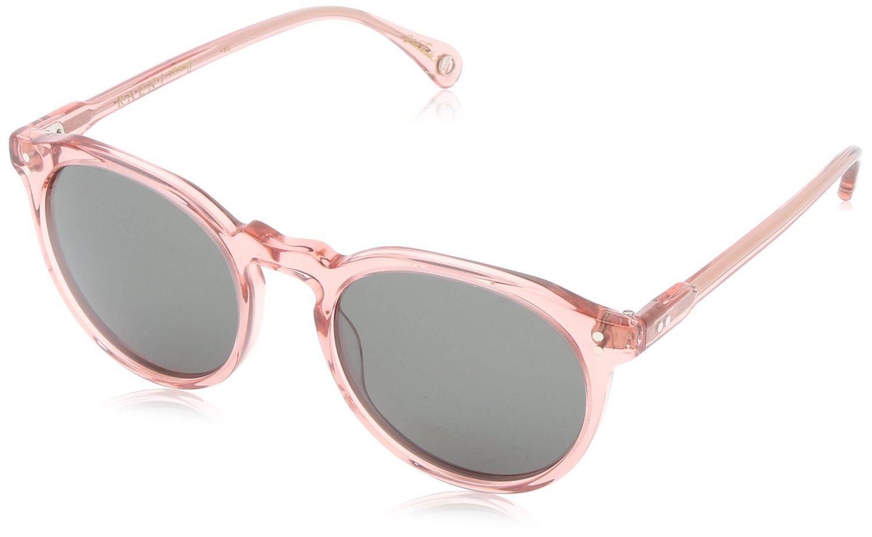 Amazon.com: Raen Remmy Round Sunglasses,Crystal Rose,52 mm: Clothing