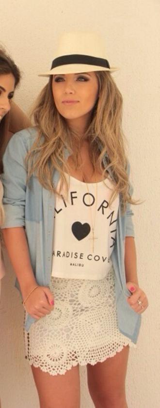 tank top shirt california tanktop california shirt california heart white