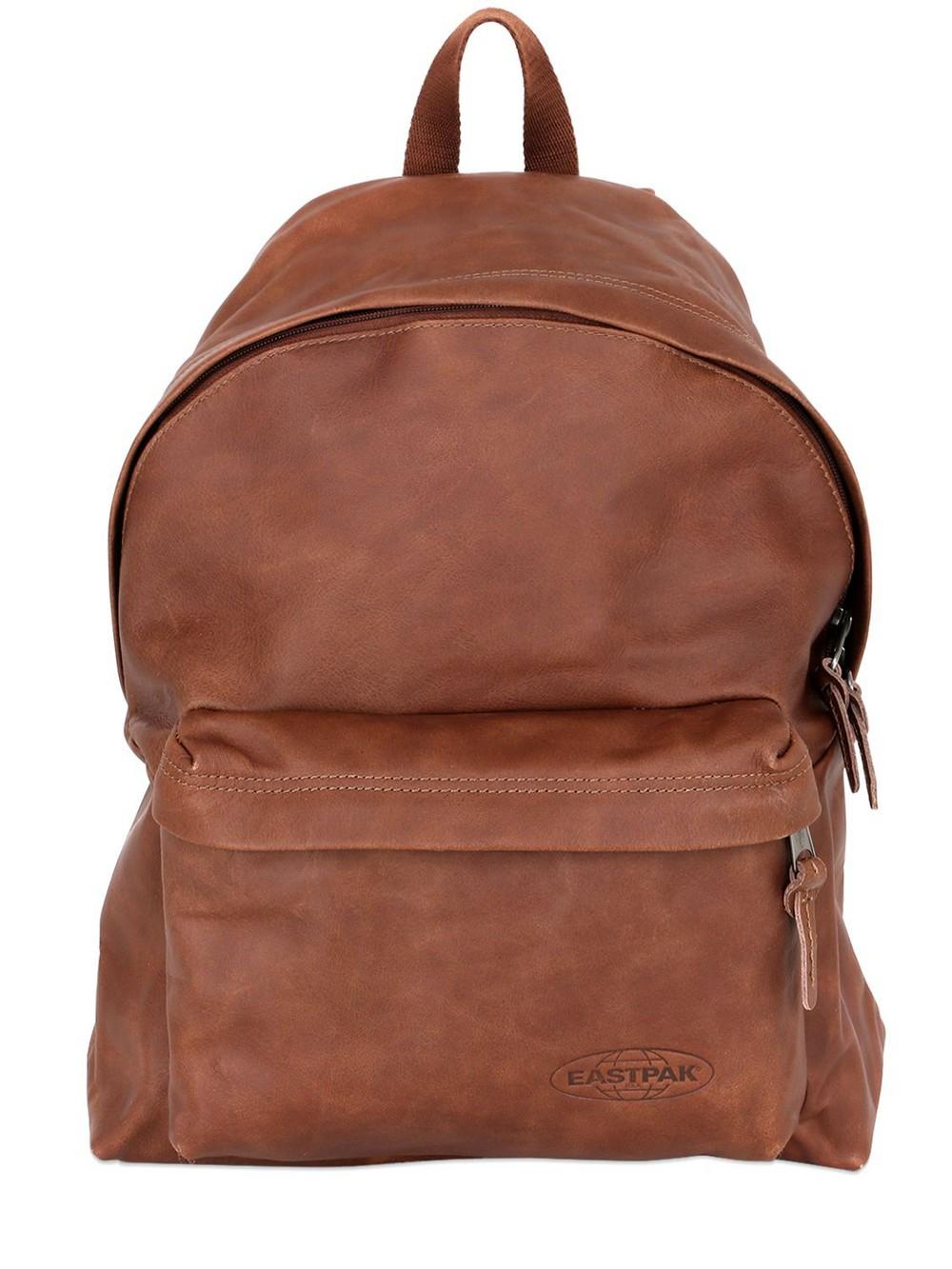 backpack, leather backpack, leather, light, brown, bag ...