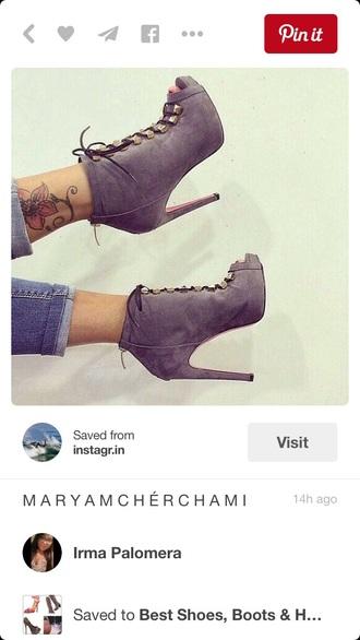 shoes high heels cute high heels suadeboots boots