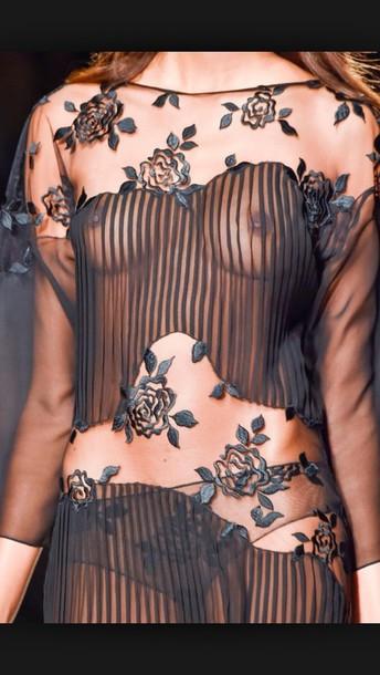 dress see through