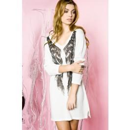 Angel wings sweater dress