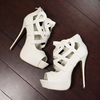 shoes high heels heels beautyful weheartit beautyfull peep toe pumps