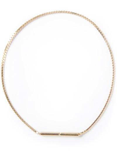 Saskia Diez Fine Cubic Bracelet - Henrik Vibskov Boutique - Farfetch.com