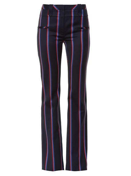 Altuzarra wool navy pants