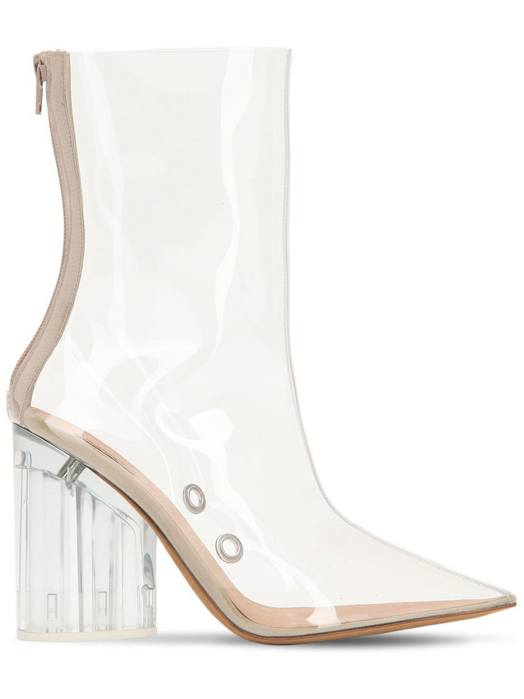 YEEZY 100mm Pvc Ankle Boots in transparent