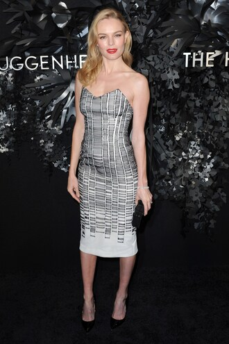 dress strapless kate bosworth