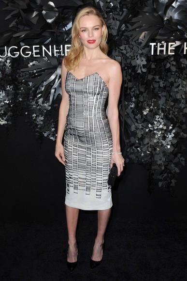 dress strapless kate bosworth