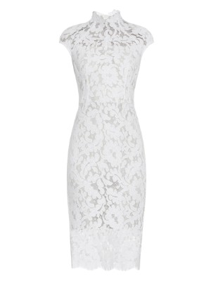 Warrior French-lace midi dress | Lover | MATCHESFASHION.COM