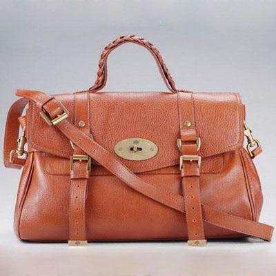 Discount Price Mulberry Alexa Brown Satchel - $219.23 : Handbags ...