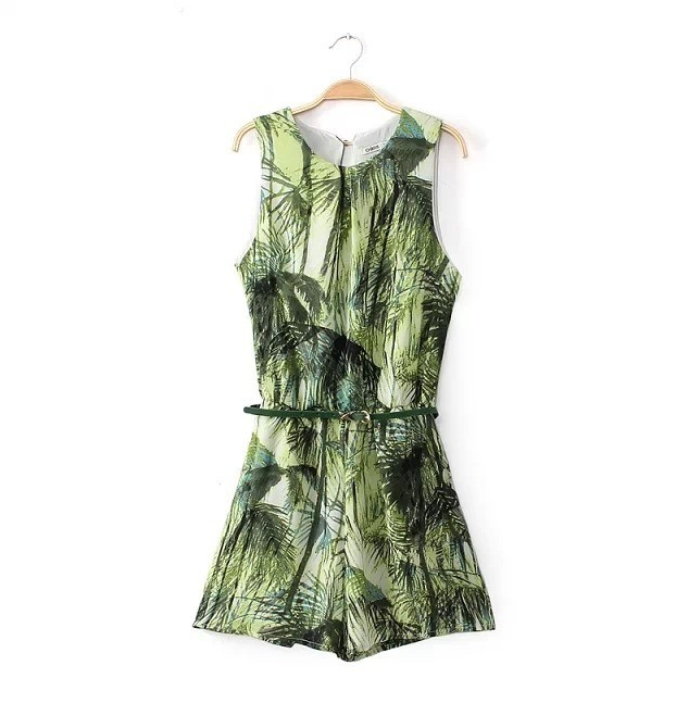 Jungle fever playsuit  / big momma thang