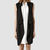 Womens Hestia Sleeveless Trench Coat (Black) | ALLSAINTS.com