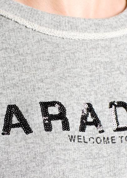 MANGO - CLOTHING - Cardigans and sweaters - Paradise sequin sweatshirt