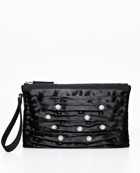 Belted Foldover Bag | Ann Taylor