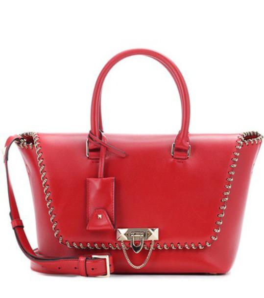 Valentino bag shoulder bag leather red