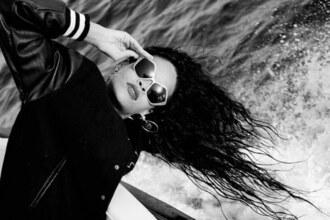 jacket rihanna jackett sunglasses