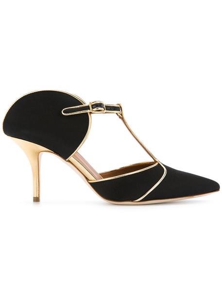 MALONE SOULIERS women pumps leather black shoes