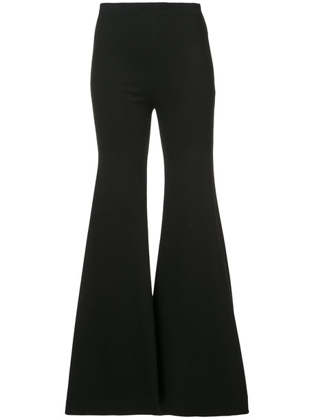 Rosetta Getty women spandex black pants