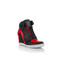 2ti lover classic - women's black / red wedge sneakers | voinstyle