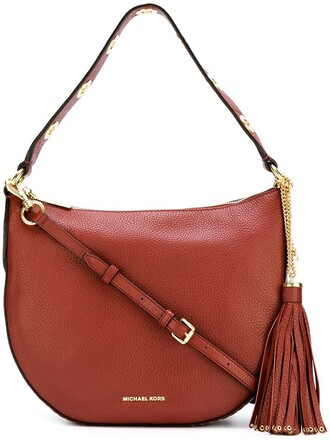 brooklyn bag shoulder bag red